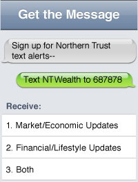 Northern Trust Text Alerts